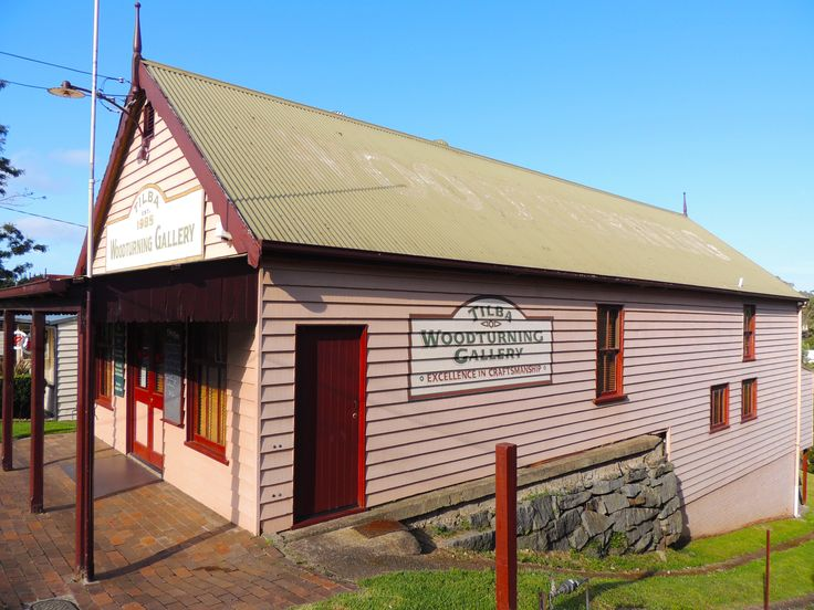 Woodturning Gallery in Central Tilba