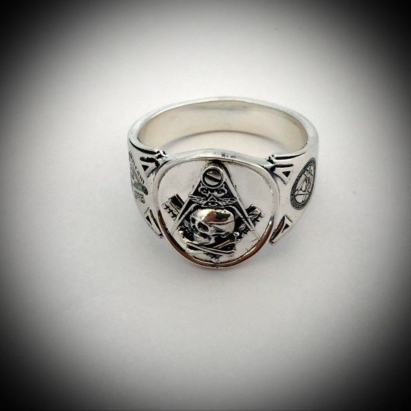 Size T masonic ring freemasons jewellry UK Size T