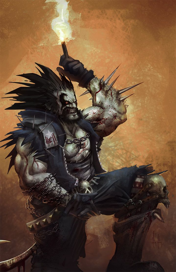 Dc Comics Fans : Fan art lobo bite me fanboy by elgummo on deviantart
