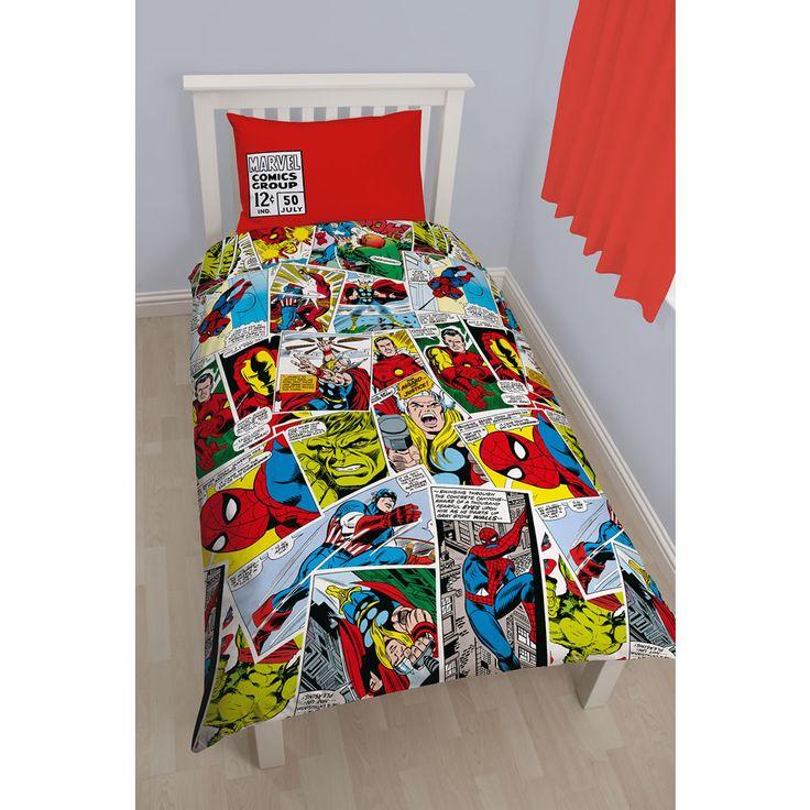Wilkinson Marvel Comic Duvet Set Single £14 - single size