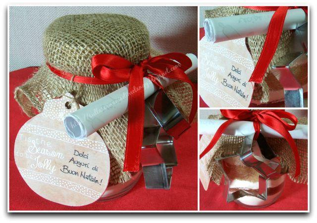 Biscotti in barattolo: regalo di Natale home-made! | Sulla scrivania di Melangy