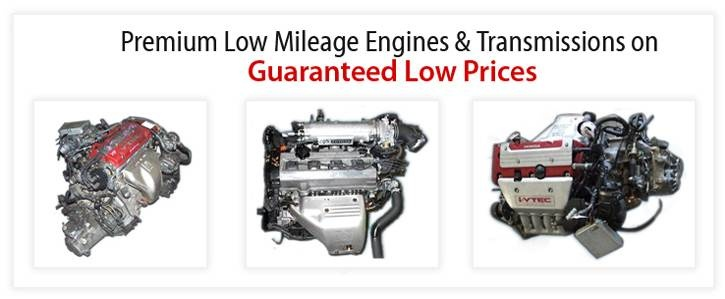 LOW MILEAGE JAPANESE ENGINES: Japan is the only country in this world which has strict laws that force car owners to discontinue using their vehicles within 4-5 years, this means enormous amount of Low Mileage JDM Engines & Transmission. Having our own lead office in Osaka, Japan gives us an edge over competition because we acquire quick, acquire hard-to-find models faster & our stock goes through quality testing in Japan and Houston after we unload the container.