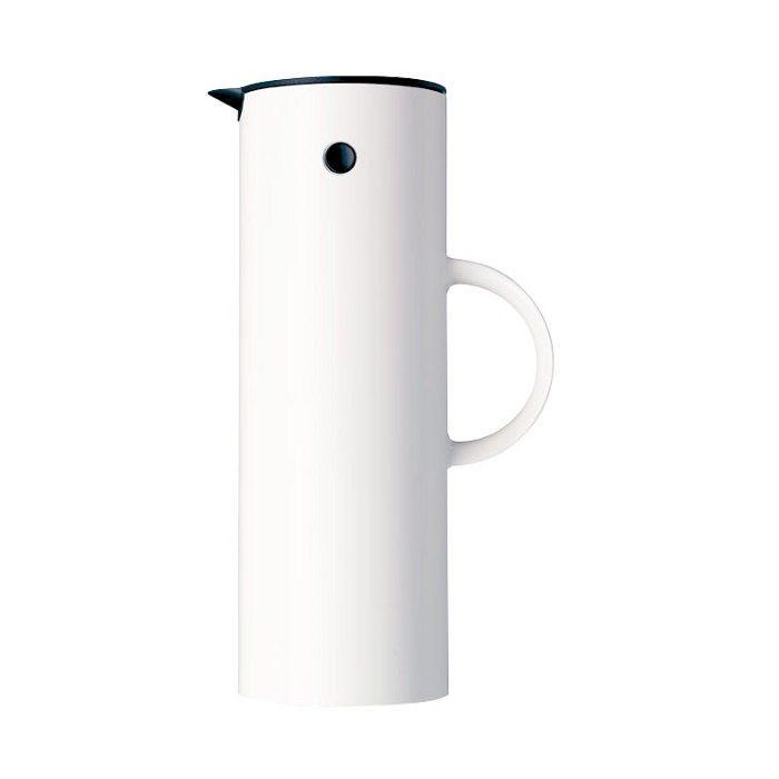 Stelton Isolierkanne Weiß 1.0 Liter