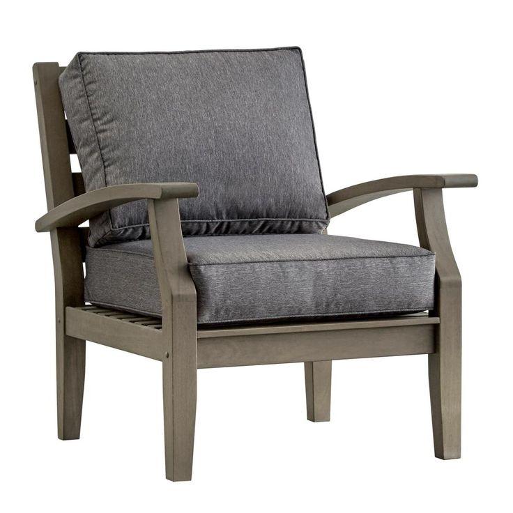 Grey Wicker Patio Furniture Decor