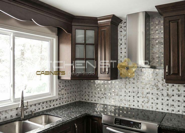 New kitchen by Kitchen Star cabinets in Toronto 647-800-8006