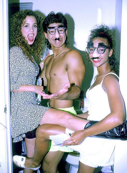 Lark Voorhies Hot   Elizabeth Berkley, Mario Lopez & Lark Voorhies in a private photo ...