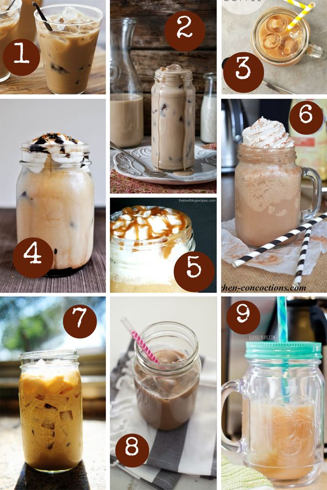 Iced Coffee Recipes | Our Holly Days