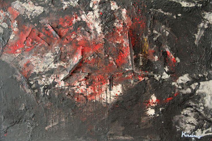 No title Acrylic on canvas 73x100 cm 12.2003 © Karino Amade
