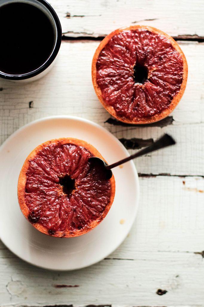 Bruléed Grapefruit