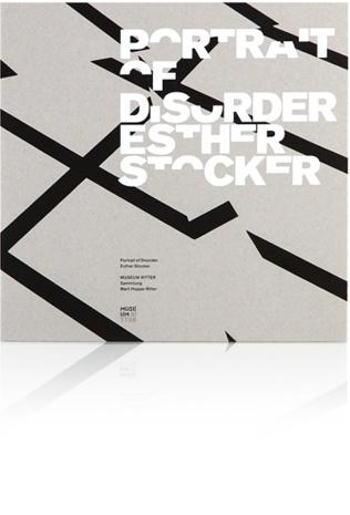 Esther Stocker    Portrait of Disorder      Museum Ritter   11/2012