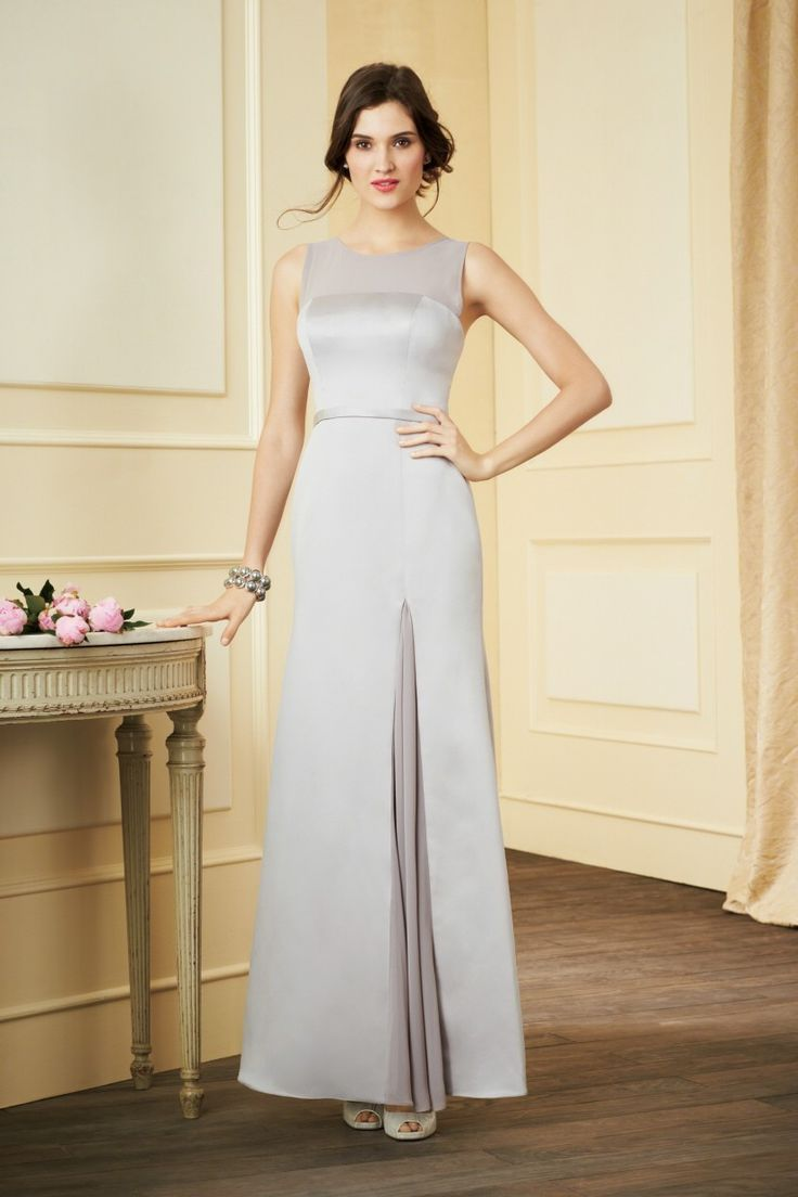 53 best alfred angelo bridesmaid dresses images on pinterest alfred angelo spring 2014 bridesmaid dress collection style a long version of style it is an elegant floor length gown with pleated opening on the side of ombrellifo Image collections