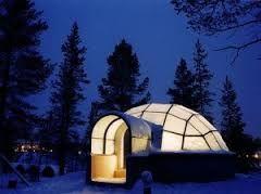 finland rent glass igloo - Buscar con Google