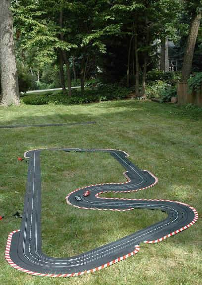 photo of homemade outdoor race track yahoo search. Black Bedroom Furniture Sets. Home Design Ideas