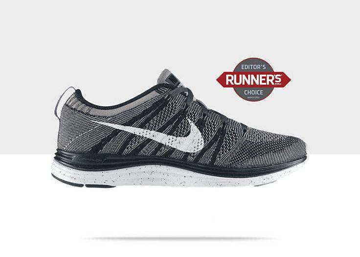 f8d3c682f58c2 ... uk nike mens flyknit lunar 2 running shoes sneakers trainers size 9.5  white orange flyknit lunar