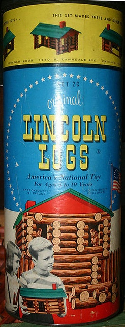 The Original Lincoln Logs - Set 2C I grew up playing with my Lincoln Logs.