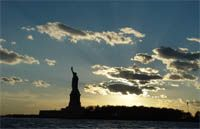 sunset sail aboard schooner adirondack (NYC)