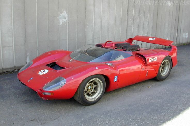 DeTomaso Sport 5000 Fantuzzi, Pete Brock Design that came along with the Cobra v8 engine