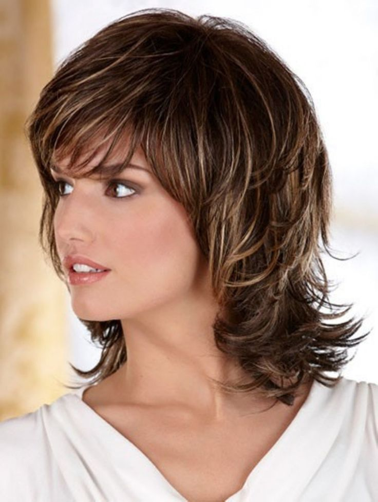 pretty shag hairstyle impress