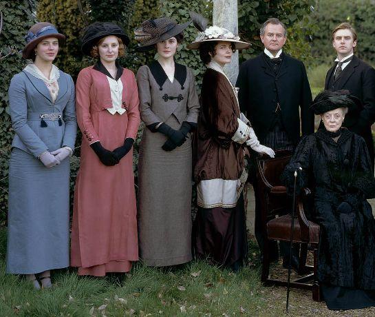 Downton Abbey attire