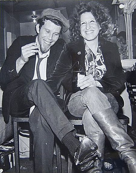 Tom Waits and Bette Midler. Where is her hand!?