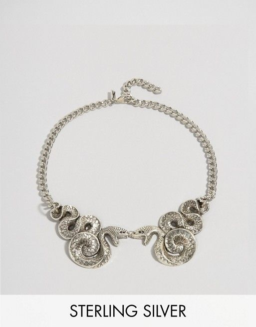 Regal Rose | Regal Rose Halloween Malice Double Snake Collar Necklace