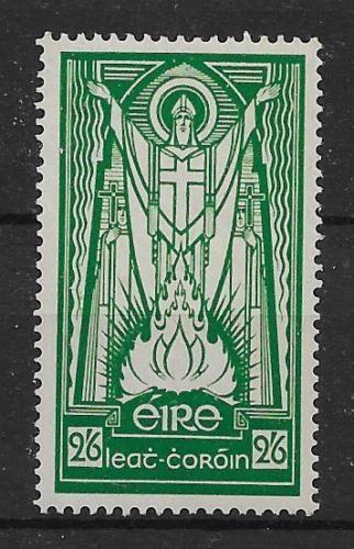 L-039-Irlanda-sg102-1937-2-6-VERDE-SMERALDO-MTD-Nuovo-di-zecca