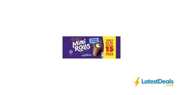 Cadbury Milk Chocolate Mini Rolls 15 Pack, £1.50 at ASDA
