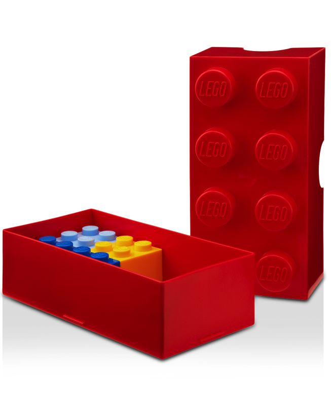 LEGO lunchbox. Perfect for kids (or adults -- you know it's true).