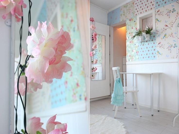 Fairy Lights And Pip Studio Wallpaper