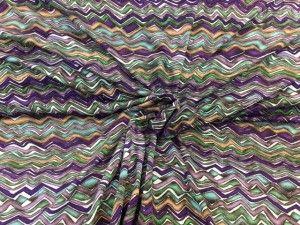 Tessuto maglina zig-zag