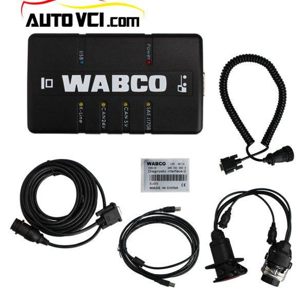 Wabco Diagnostic Kit Wdi Tool Trailer Truck Diagnostic Interface Diagnostic Tool Trucks Interface