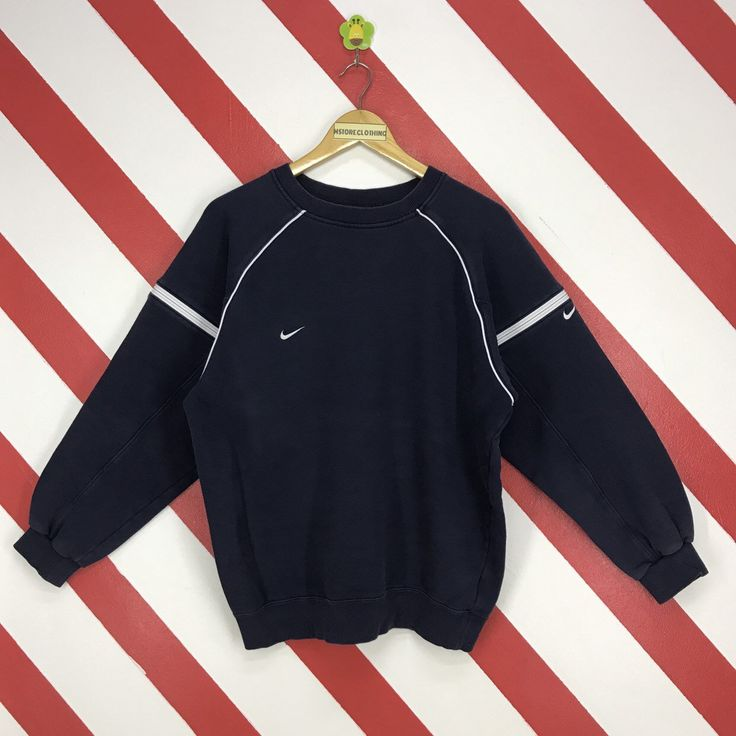 Vintage Nike Sweatshirt Crewneck Nike Swoosh Sweater