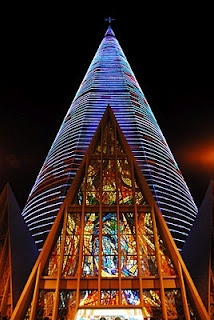Cathedral of Maringá, Paraná, Brazil. @designerwallace