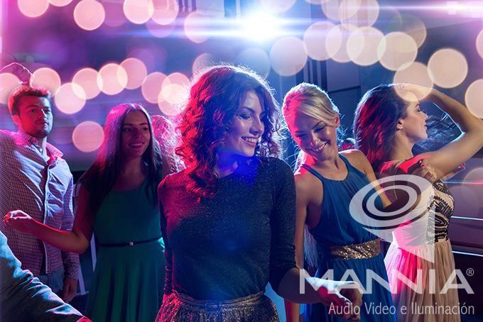 Audio, Video e Iluminación de calidad, con nosotros, al momento de bailar. #EventosMannia