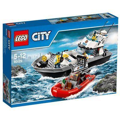 LEGO City-Polizei-Patrouillen-Boot 60129 Toy Hobbies Block 200 Pieces
