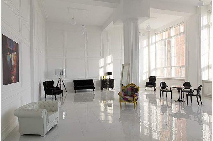 Просторный белый зал 150 кв.м. для свадеб и корпоративов | SpeedRent - аренда…