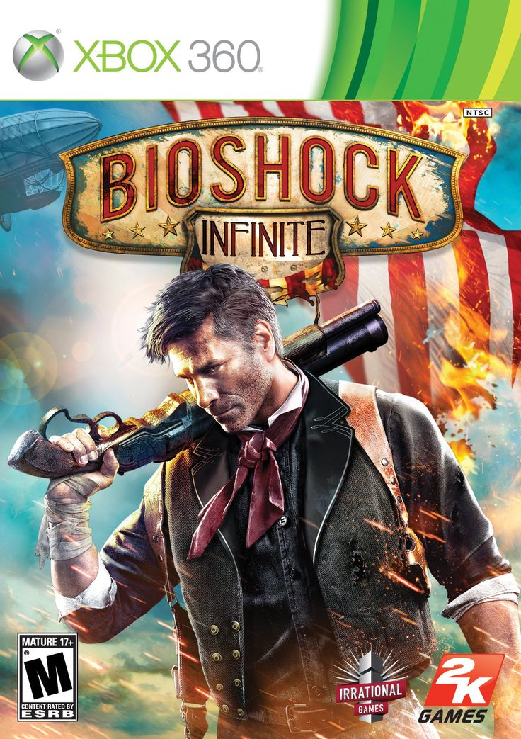BioShock Infinite - Xbox 360: Video Games  First-person shooter like you've never seen. Set in 1912.