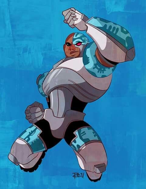 Teen Titans parte 2 - Cyborg