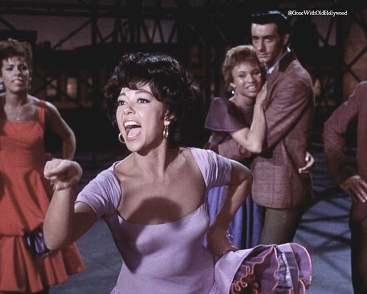 Rita Moreno in West Side Story 1961
