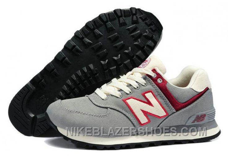 http://www.nikeblazershoes.com/mens-balance-ml574rub-grey-red-shoes-new-arrival.html MENS BALANCE ML574RUB GREY RED SHOES NEW ARRIVAL Only $85.00 , Free Shipping!