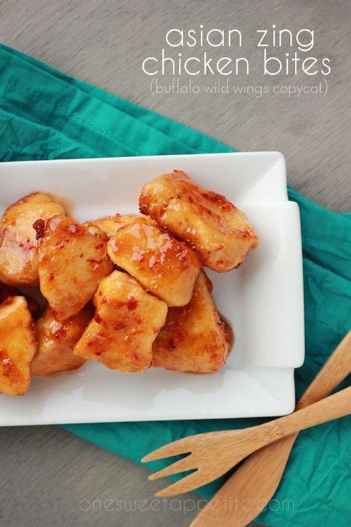 Asian Zing Chicken Bites Recipe (Buffalo Wild Wings Copycat)