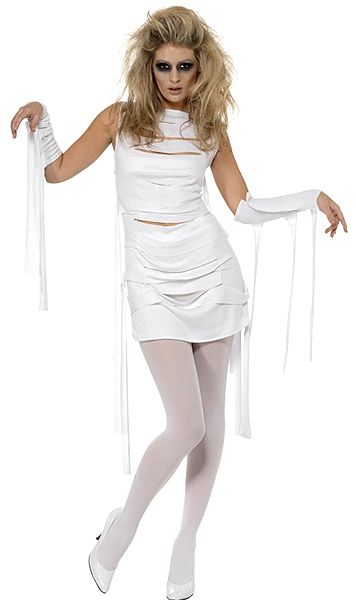 Ghost: Yummy Mummy Costume @ OdGirl.com - Lingerie, Clothing, High Heel Shoes, Dancewear, Clubwear, Gothic Apparel, Minidress, Bridal Lingeries, Short Skirt, Bikini, Swimwear, PVC Leather and Gowns
