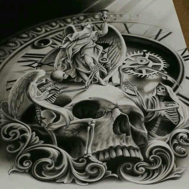Tattoo Ideas Death: 59 Best Images About Death Arm Tattoo Ideas On Pinterest