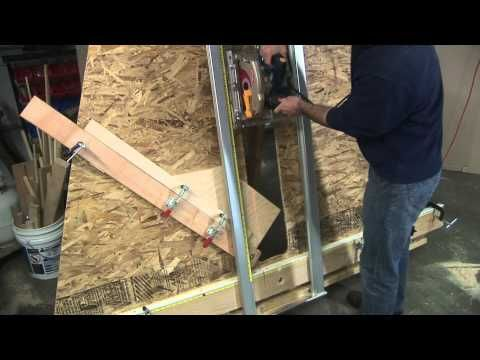 DIY Panel Saw Kit |Twice as good, a fraction of the cost.