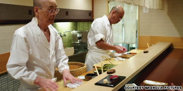 Want to try the worlds best sushi? Stop by Tokyo's Sukiyabashi Jiro. This world renowned restaurant is located in the basement of metro station.