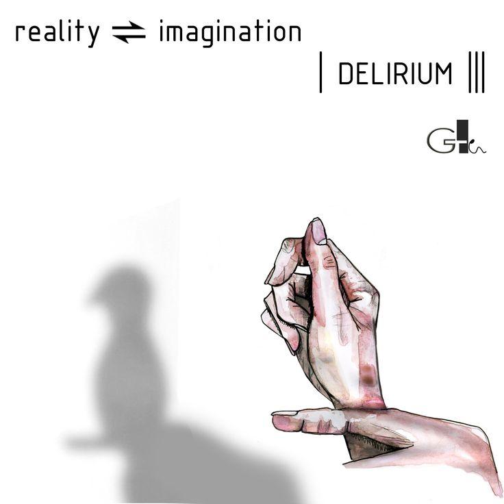 #REALITY #IMAGINATION #DELIRIUM #shadow #shadowplay #appearances #watercolor #waterbrush #drawing #art #painting #ink #illustration #white #black #design #artwork  #sketch @laikag  | GAIA TELESCA |