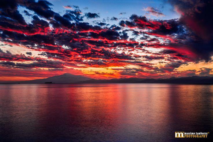 Photograph Infernal Etna Sunset by Massimo Tamborra on 500px