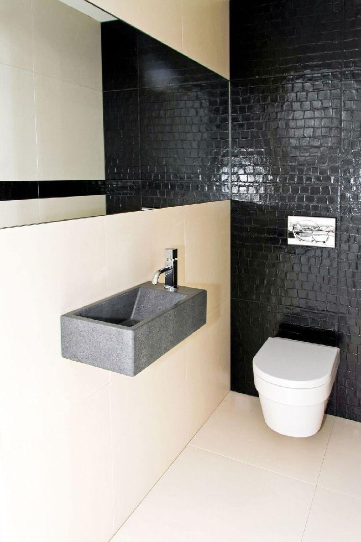 Mała toaleta - przykłady jak urządzić i zaprojektować - Pomysł