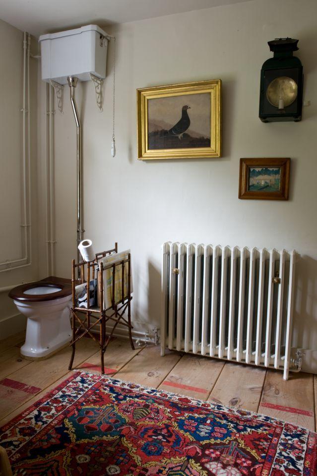 69 Best High Tank Toilets Images On Pinterest Toilet