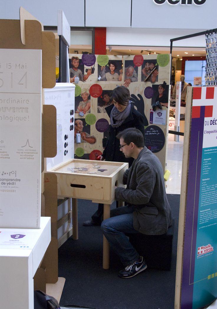 #SERD C'est la semaine européenne de réduction des déchets. Et si vous alliez découvrir l'étonnante exposition présentée au centre commercial Courier jusqu'au 30/11. Au programme : une immersion dans le futur pour le plaisir des petits et des grands ! Crédit : CG74/Bertrand Quéant